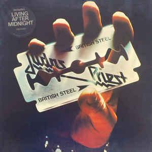 British Steel - Album Cover - VinylWorld