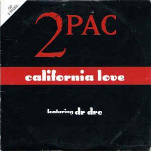 2Pac - California Love - Album Cover