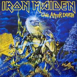 Iron Maiden - Live After Death - Album Cover
