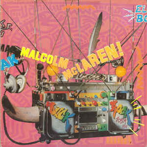 Malcolm McLaren - Duck Rock - Album Cover