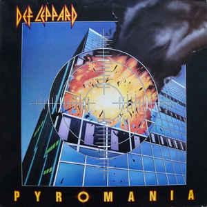 Def Leppard - Pyromania - Album Cover