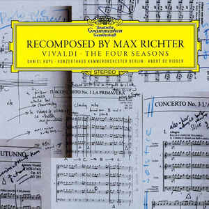 Max Richter - Recomposed By Max Richter: Vivaldi - The Four Seasons - Album Cover