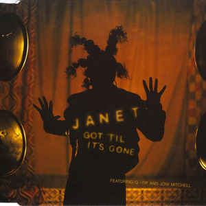 Janet Jackson - Got 'Til It's Gone - Album Cover