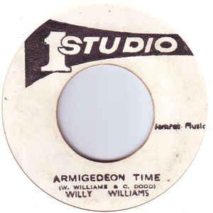 Willi Williams - Armigedeon Time - Album Cover