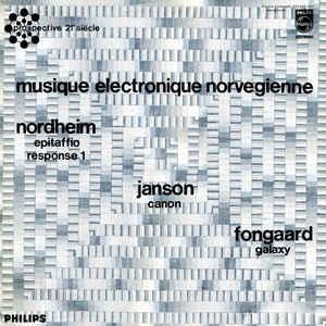 Musique Électronique Norvégienne - Album Cover - VinylWorld