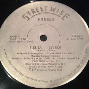 Freeez - I.O.U. - Album Cover