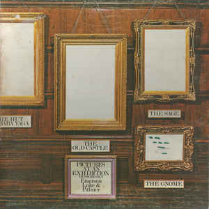 Emerson, Lake & Palmer - Pictures At An Exhibition - Album Cover