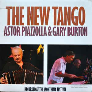 Astor Piazzolla - The New Tango - Album Cover