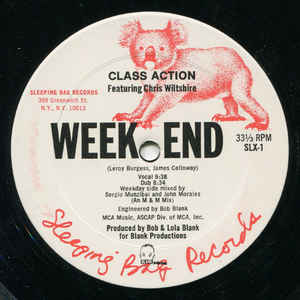 Class Action - Weekend - Album Cover