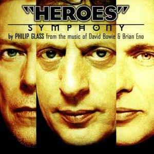 "Philip Glass - ""Heroes"" Symphony - Album Cover"