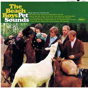 The Beach Boys - Pet Sounds - Album Cover