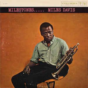 Miles Davis - Milestones - Album Cover