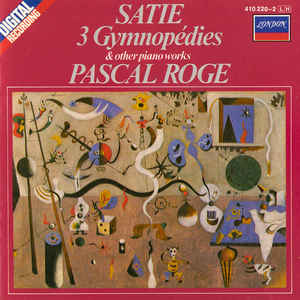 3 Gymnopédies & Other Piano Works - Album Cover - VinylWorld