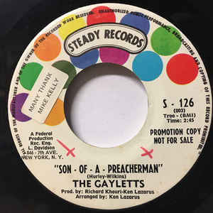 The Gaylettes - Son - Of - A - Preacherman / That's How Strong My Love Is - VinylWorld