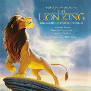 Elton John - The Lion King (Original Motion Picture Soundtrack) - Album Cover