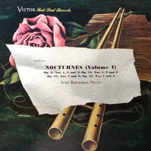 Arthur Rubinstein - Nocturnes (Volume I) - Album Cover