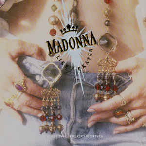 Madonna - Like A Prayer - Album Cover