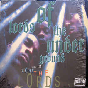 Lords Of The Underground - Here Come The Lords - Album Cover