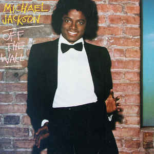 Michael Jackson - Off The Wall - Album Cover