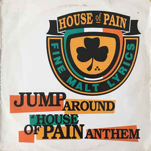 Jump Around & House Of Pain Anthem - Album Cover - VinylWorld