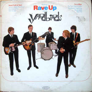 The Yardbirds - Having A Rave Up With The Yardbirds - Album Cover