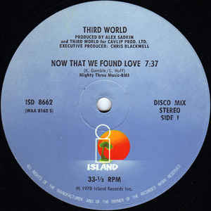 Third World - Now That We Found Love - Album Cover