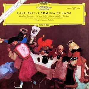 Carl Orff - Carmina Burana - Album Cover