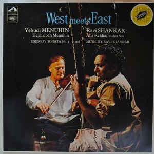 Yehudi Menuhin - West Meets East - Album Cover