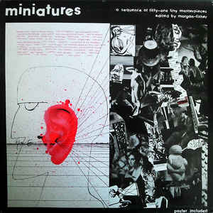Miniatures (A Sequence Of Fifty-One Tiny Masterpieces Edited By Morgan-Fisher) - Album Cover - VinylWorld