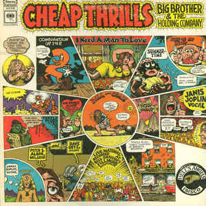 Big Brother & The Holding Company - Cheap Thrills - Album Cover