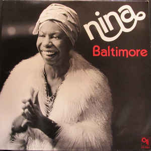 Nina Simone - Baltimore - Album Cover