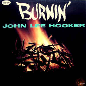 John Lee Hooker - Burnin' - Album Cover