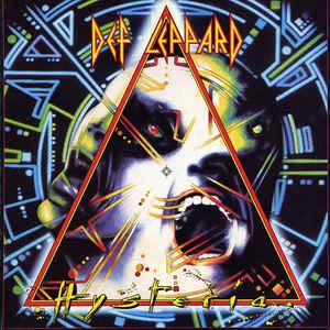 Def Leppard - Hysteria - Album Cover