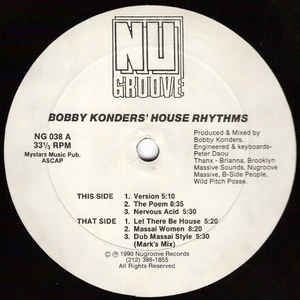 House Rhythms - Album Cover - VinylWorld