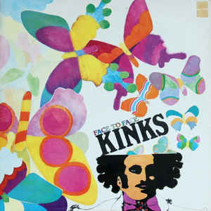 The Kinks - Face To Face - Album Cover