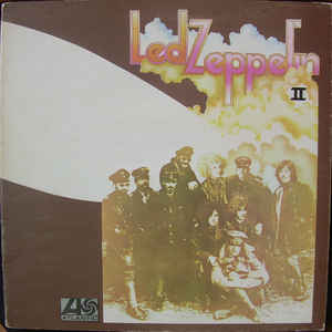 Led Zeppelin - Led Zeppelin II - Album Cover