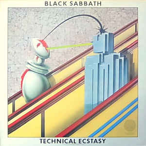 Black Sabbath - Technical Ecstasy - Album Cover