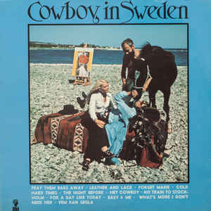 Lee Hazlewood - Cowboy In Sweden - Album Cover