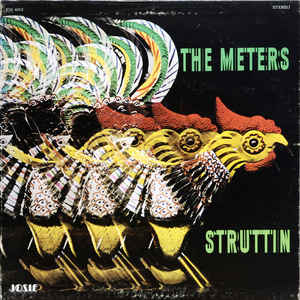 The Meters - Struttin' - Album Cover
