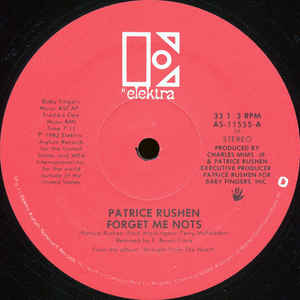 Patrice Rushen - Forget Me Nots - Album Cover