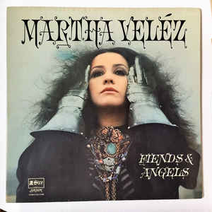Martha Velez - Fiends & Angels - Album Cover