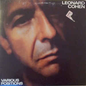 Leonard Cohen - Various Positions - Album Cover