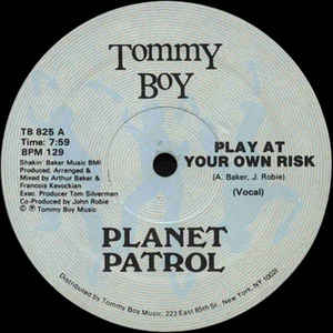 Planet Patrol - Play At Your Own Risk - Album Cover