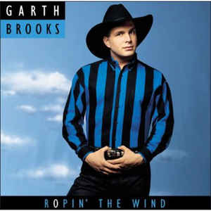 Garth Brooks - Ropin' The Wind - Album Cover