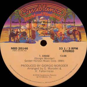 Giorgio Moroder - Chase - Album Cover