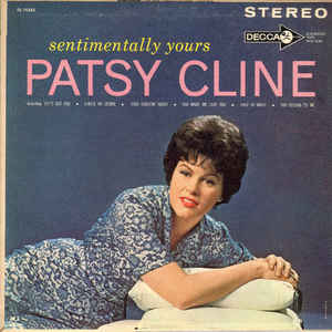 Patsy Cline - Sentimentally Yours - Album Cover