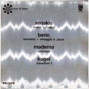 Orient-Occident / Momenti - Omaggio A Joyce / Continuo / Transition 1 - Album Cover - VinylWorld