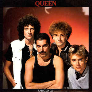 Queen - Radio Ga Ga - Album Cover