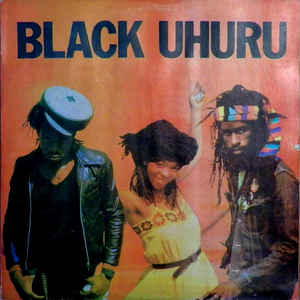 Black Uhuru - Red - Album Cover