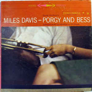 Miles Davis - Porgy And Bess - Album Cover